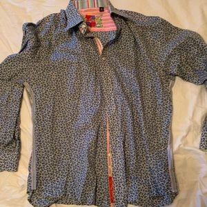 Robert graham shirt xl men's